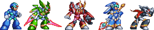 MMZ Four Guardians - PS1 Style by geno2925