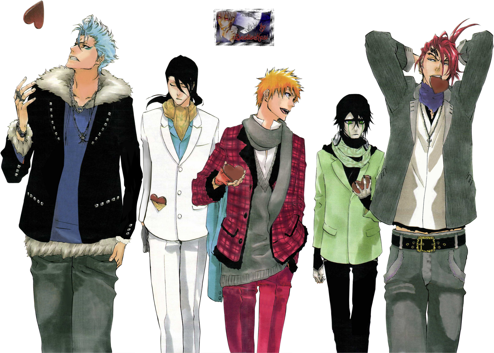 Bleach Boygroup by BastisHasi on DeviantArt