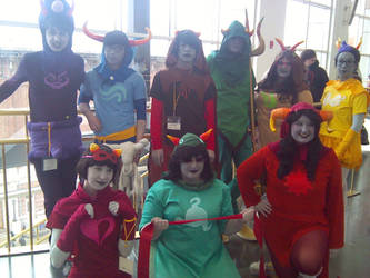 Anime Boston 2014 - Day 2 by Spookyx12