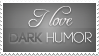Dark Humor Stamp by Drake1