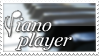 Piano Player Stamp by Drake1