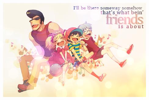 Bein' Friends Sig by Drake1