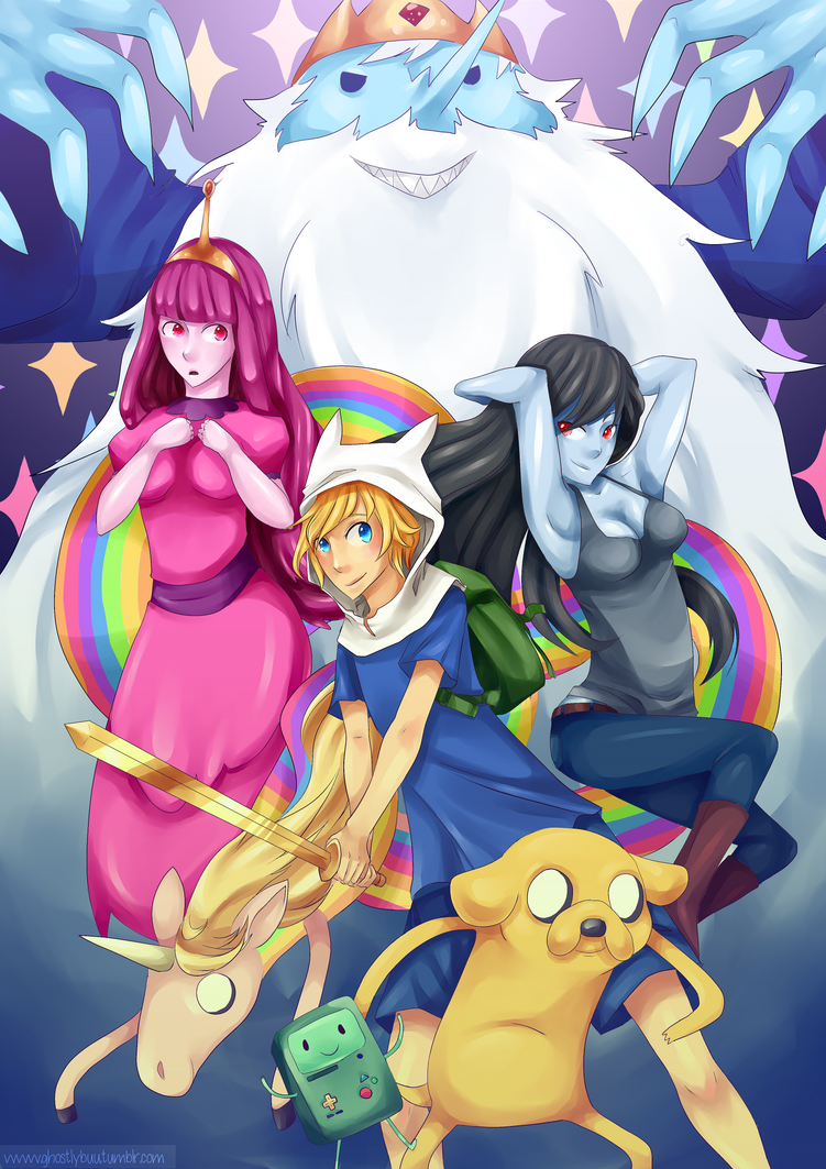 Adventure Time! by GhostlyBuu