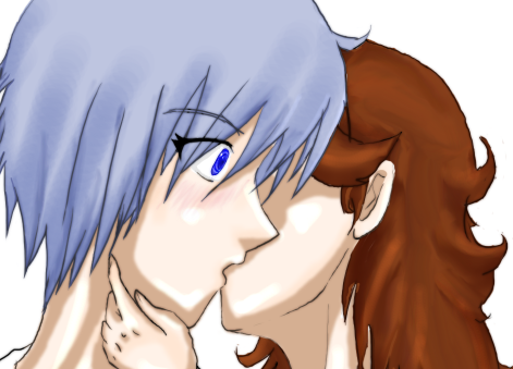 Razzu and Sai KISS by Vexen-Is-God