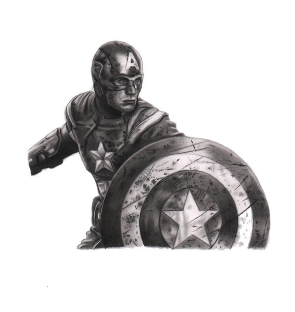 Captain America by kad84