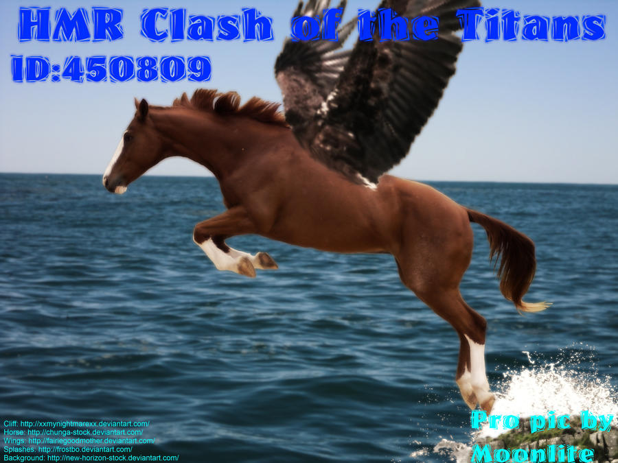 HMR Clash of the Titans by MoonliteHoofbeats