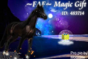 FAF Magic Gift by MoonliteHoofbeats