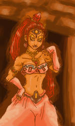 Nabooru the Gerudo Theif by Axel26