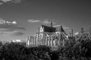 Eglise Saint Eustache de Paris by 0lastnight0