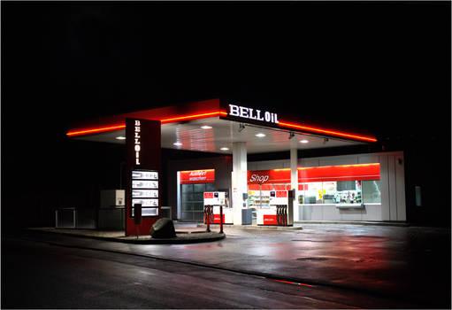 Fill up at night...