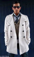 spy in white coat
