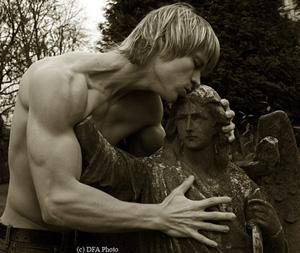 angel kiss by artdibujar