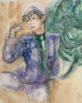 Drifters Abeno Seimei