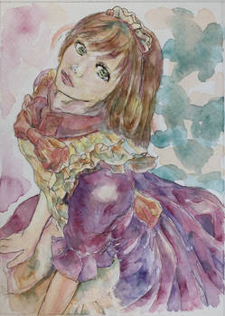 Watercolor maid