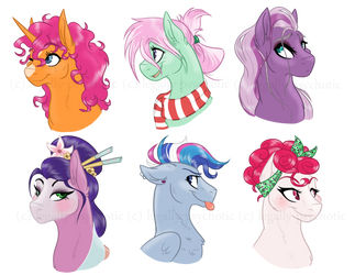 ~ the NOT SO MANE six ~ by cranberry--zombie
