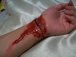 Cut Wrist. 7 by BabsxStock