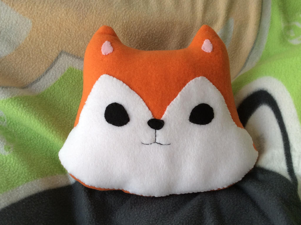 Fox Plush by Lily-L
