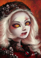 vampire lady by bobba88