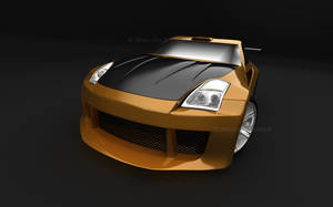 Nissan 350Z Orange_2 by TheSaladMan