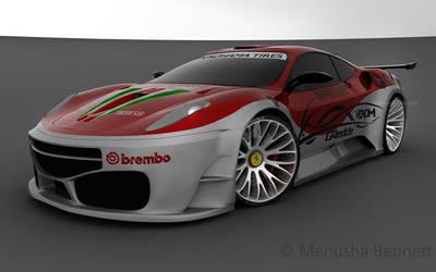 Ferrari GT3 Widebody 2
