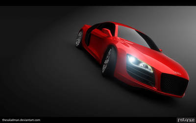 Audi R8_X 'Red' by TheSaladMan