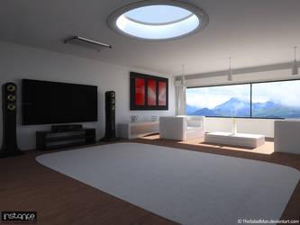 Interior White 1 by TheSaladMan
