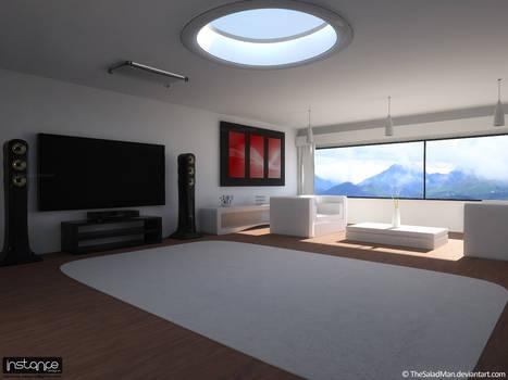 Interior White 1