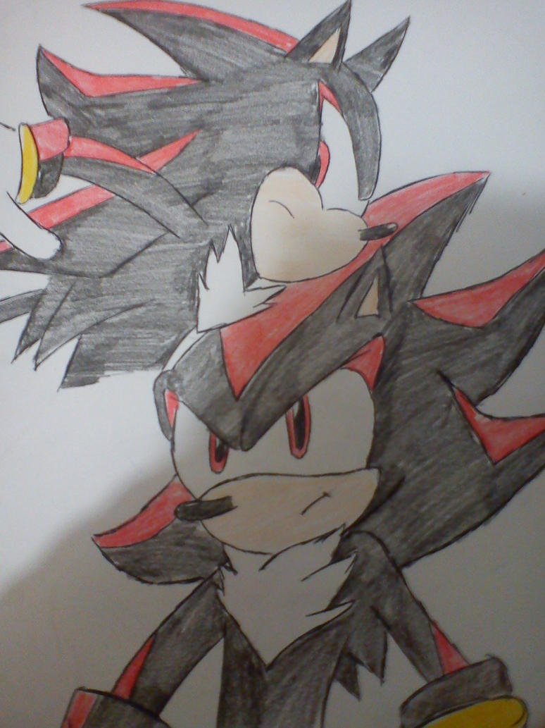 Shadow The Hedgehog by DeltaHatake