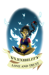 Flexibility love and trust