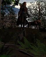 The Hunter by KaanaMoonshadow