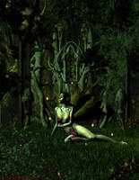 Queen of the Dark Forest by KaanaMoonshadow