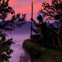 The Druid by KaanaMoonshadow