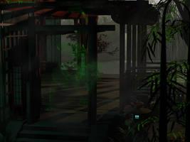 Green Dragon Dojo by KaanaMoonshadow