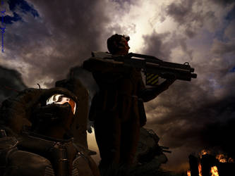 Space Marines by KaanaMoonshadow