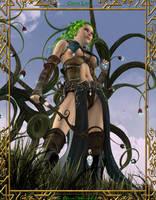 Green Lady by KaanaMoonshadow