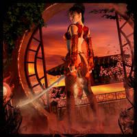 Red Warrior by KaanaMoonshadow
