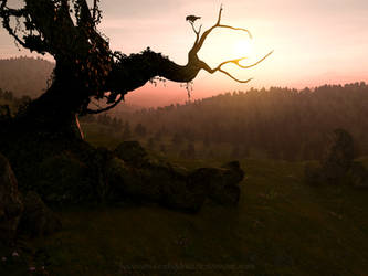 The troll who went up a hill.. by KaanaMoonshadow