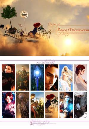 Art Calendar 2012