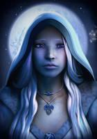 Luna, Dragon Disciple by KaanaMoonshadow