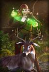Pathfinder - Druid by KaanaMoonshadow
