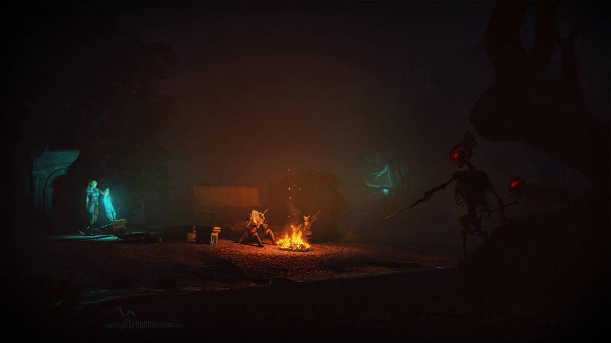A Night at the Ruins by KaanaMoonshadow