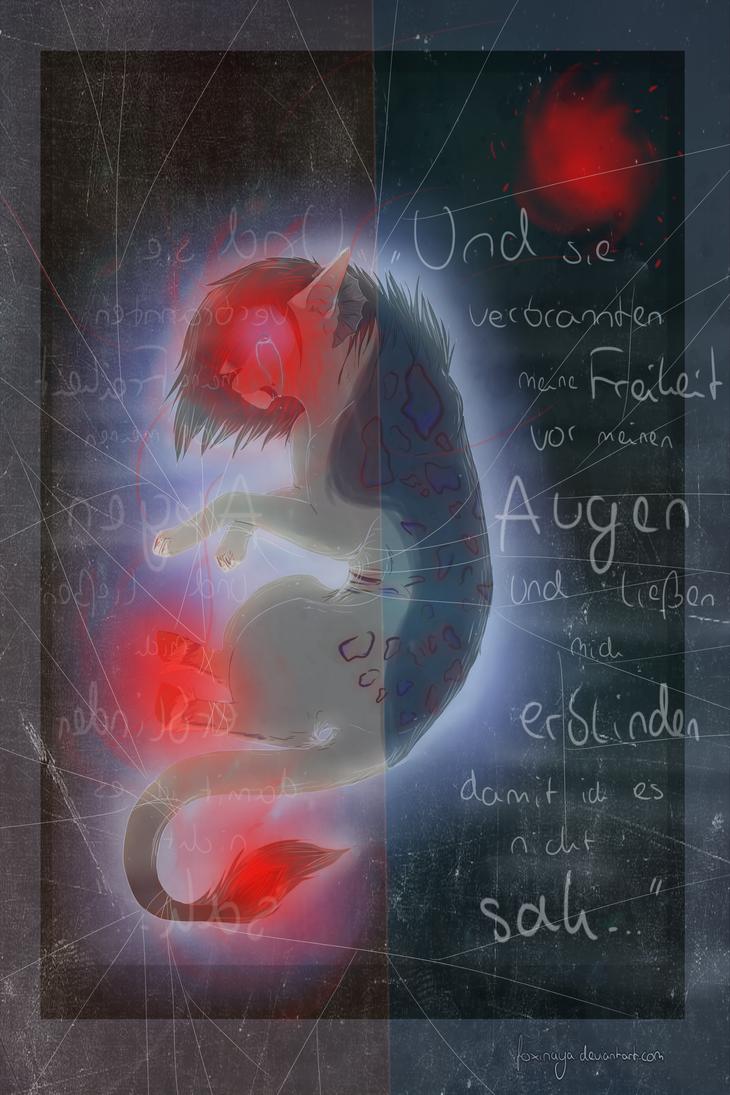 Gefangen. by Foxinaya