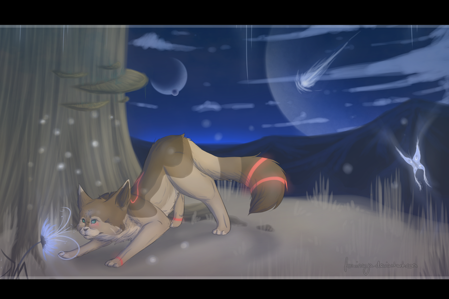 So far away.. by Foxinaya