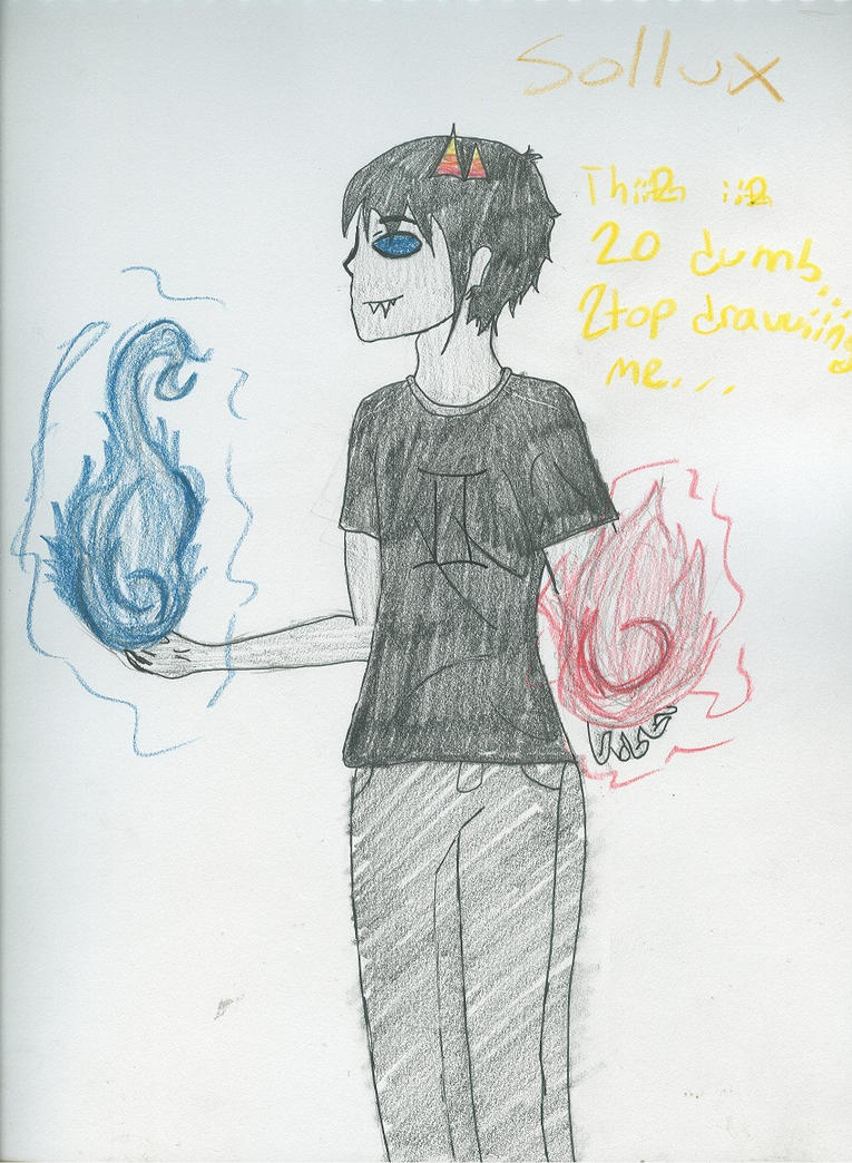 More Sollux by LillicRaine-BlueRose