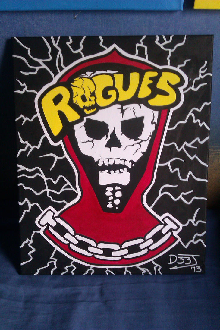 The Rogues - Painting (The Warriors) by TheD33J on deviantART
