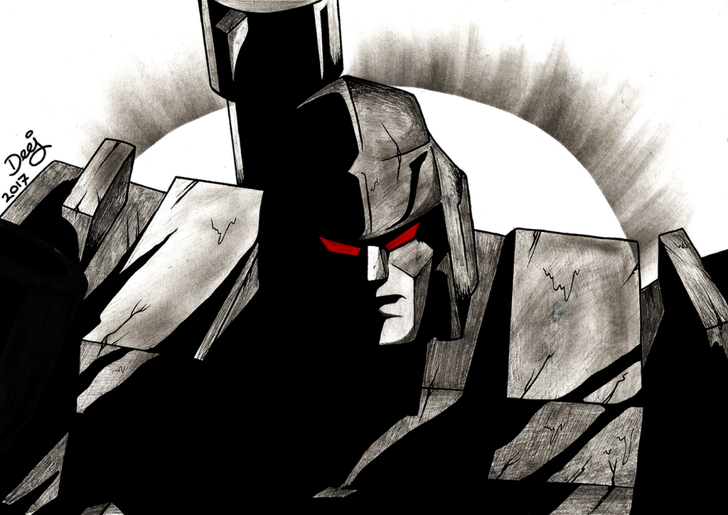 Megatron G1 - Sketch by TheD33J