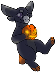 Spook and her Pumpkin by Tyoka-ARPG