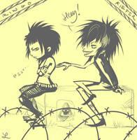 - Ringo and Kiefer - by Sakuli