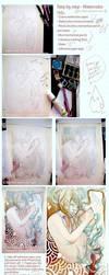 - Watercolor tutorial - by Sakuli