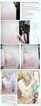 - Watercolor tutorial -